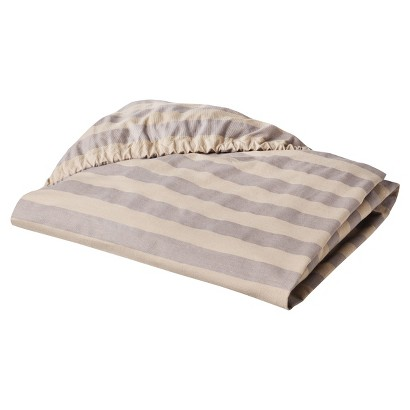 Lexington Fitted Crib Sheet by Lambs & Ivy