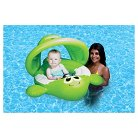 Poolmaster Green Fish Baby Seat With Canopy