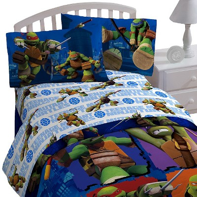 Teenage Mutant Ninja Turtles® Sheet Set - Twin