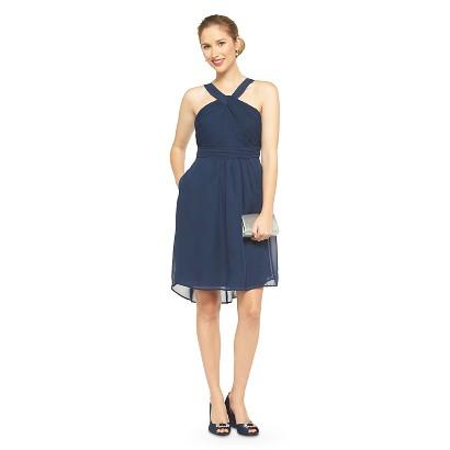 TEVOLIO™  Women's Halter Neck Chiffon Dress - Fashion Colors