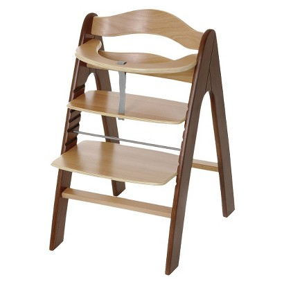 I'coo Pharo High Chair - Walnut/Natural