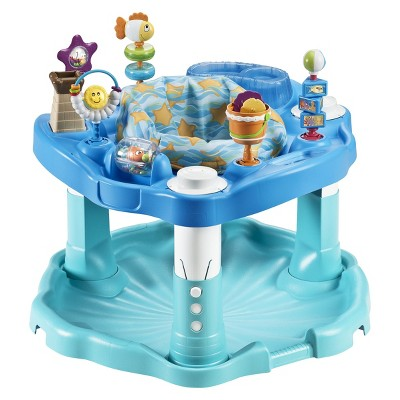 Evenflo Exersaucer Entertainer - Mega Beach Baby