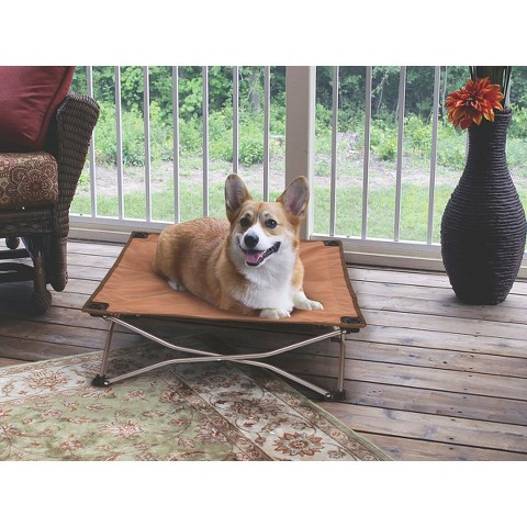 Carlson Portable Pup Travel Bed - Brown (Small)