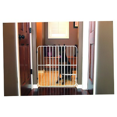Carlson Tuffy Expandable Pet Gate - Beige (Large)
