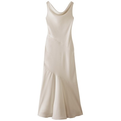 TEVOLIO™  Women's Soft Satin Cowl Neck Bridal Gown - Assorted Colors