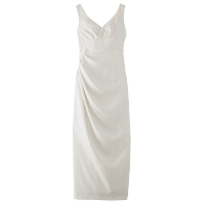 TEVOLIO™  Women's Soft Satin Rouched Bridal Gown - Assorted Colors