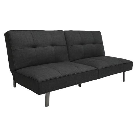 room essentials jacqueline futon black product details page