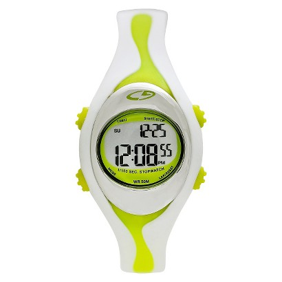 Women's C9 by Champion® Digital Watch - White/Lime