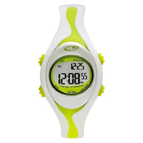 Women's C9 Champion® Digital Watch - White/Lime