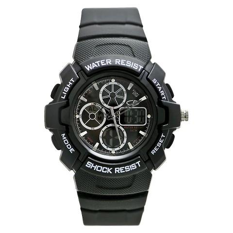 Men's C9 Champion® Analog Digital Watch - Black