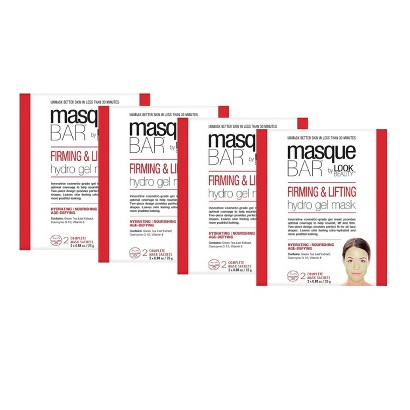 Masque Bar by Look Beauty Firming and Lifting Hydro Gel Mask - 2 Month Supply