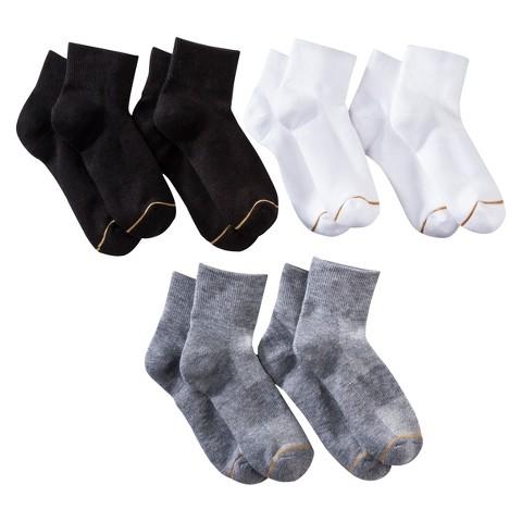 All Pro® Women's 6-Pack AquaFx Ankle Athletic Socks