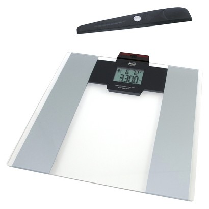 American Weigh Scales Digital Bathroom Scale -330HRS