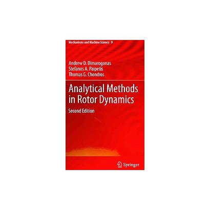 Analytical Methods in Rotor Dynamics (Hardcover)
