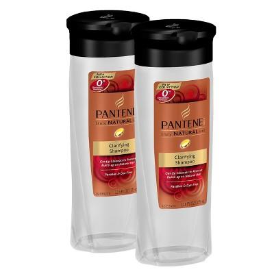 Pantene Truley Natural Hair Clarifying Shampoo Bundle