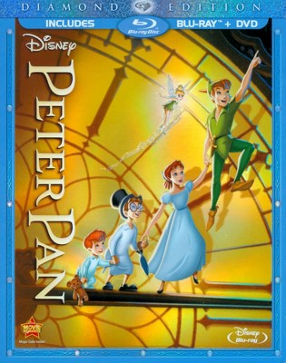 Peter Pan [Diamond Edition] [2 Discs] [Blu-ray/DVD]