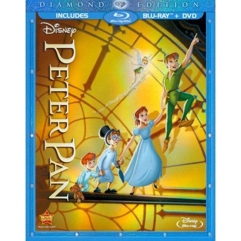 Peter Pan (Diamond Edition) (2 Discs) (Blu-ray/DVD) (R)
