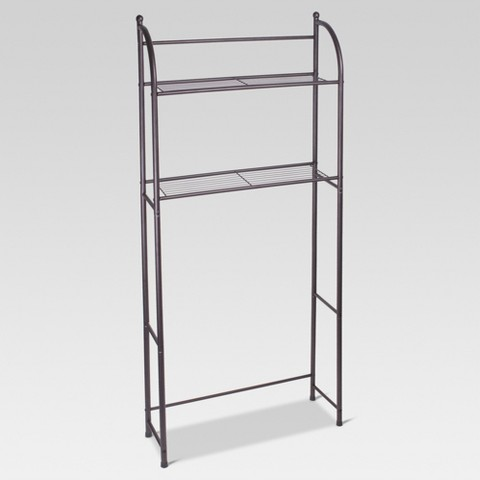 Target Home Oil Rubbed Metal Over Toilet Space Saver Etagere - Bronze - Threshold™