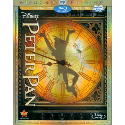 Peter Pan [Diamond Edition] [3 Discs] [Includes Digital Copy] [Blu-ray/DVD]