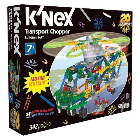 K'NEX Transport Chopper Building Set
