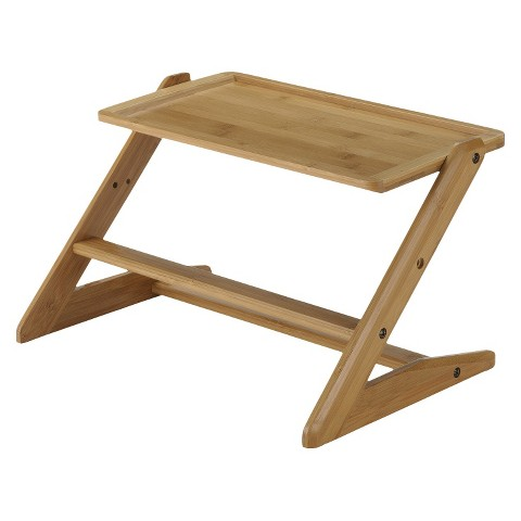 Richell Take Doggy Dining Tray - Bamboo