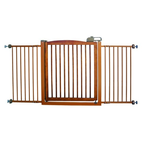Richell One-Touch Pet Gate 150 - Brown