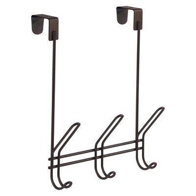 Over-the-Door Hook Bronze 3 Hook InterDesign