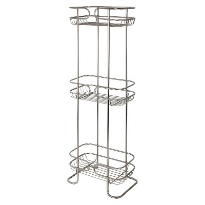 Bath Storage Rack Satin Interdesign