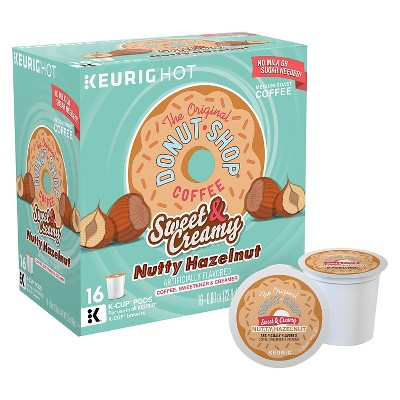Keurig Sweet & Creamy Hazelnut Iced Coffee K-Cups