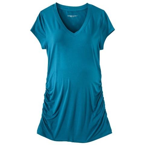 Maternity Short-Sleeve V-Neck Top-Liz Lange® for Target®