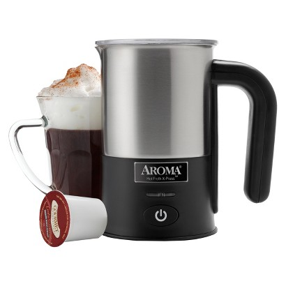 AROMA Stainless Steel Milk Frother  - 1 cup