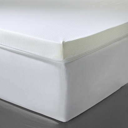 "Fieldcrest® Luxury 3"" Memory Foam Mattress Topper"