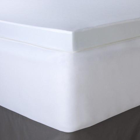 """Fieldcrest Luxury 3""""Gel Memory Foam Mattress Topper"""