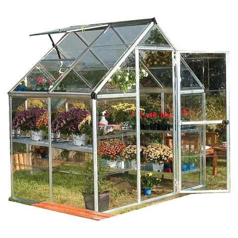 Harmony Silver Greenhouse - 6'x4'