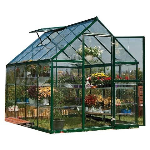Harmony Greenhouse - Green (6'x8')