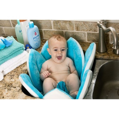 Blooming Bath Turquoise Baby Bath