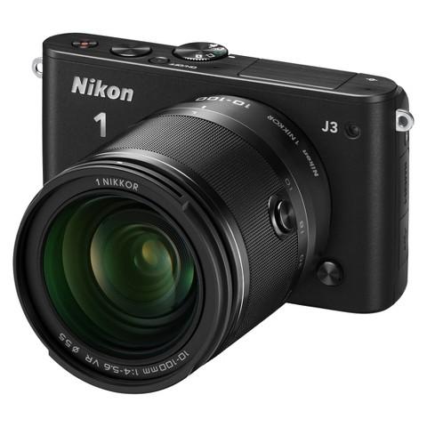 Nikon 1 J3 14.2MP Digital Camera with 10-100mm Lens