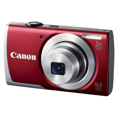 Canon PowerShot A2600 16MP Digital Camera with 5x Optical Zoom