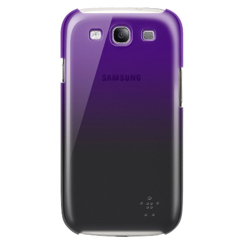 Belkin Shield Fade Case for Samsung Galaxy SIII - Voilet/Black (F8M405ttC03)
