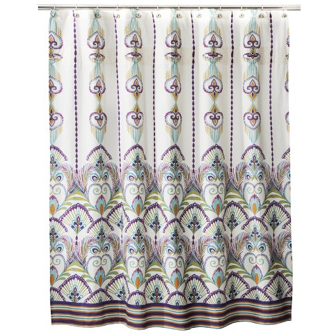 boho boutique luca shower curtain target