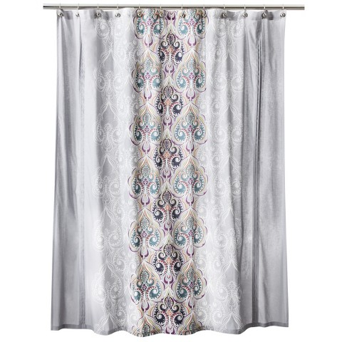 boho boutique suvi brocade shower curtain target