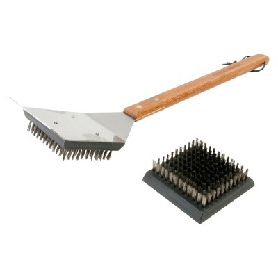 Big Head Grill Brush with Replacement Head