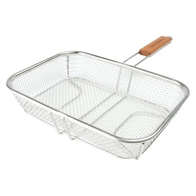 Wire Mesh Grill Basket