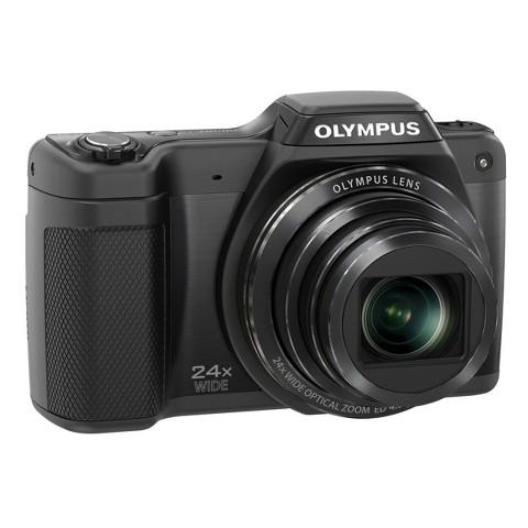 OLYMPUS SZ-15 16MP Digital Camera with 24x Optical Zoom