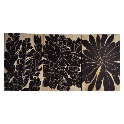 Flower Wood Panel Decor