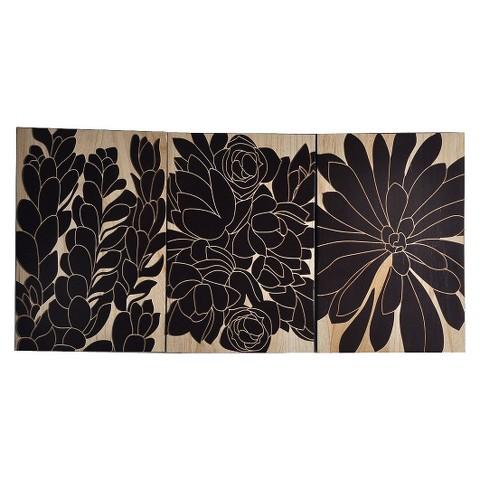 Flower Wood Panel Decor