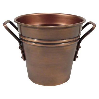Smith & Hawken® Round Copper Tabletop Planter