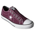 Women's Converse® One Star® Slip On Sneaker - Burgundy quick info
