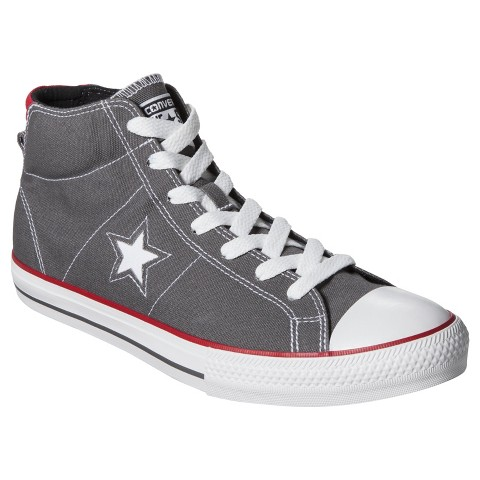 Men's Converse® One Star® Midtop Sneaker - Gray