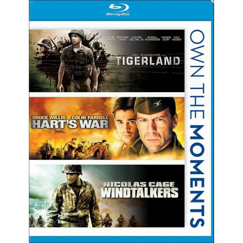 Tigerland/Hart's War/Windtalkers (Blu-ray)